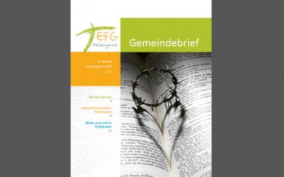 Gemeindebrief 2019-3 (Juni-August)