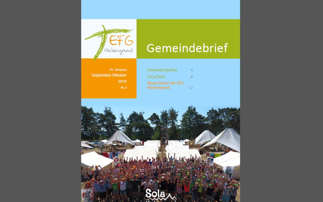 Gemeindebrief 2019-4 (September-November)