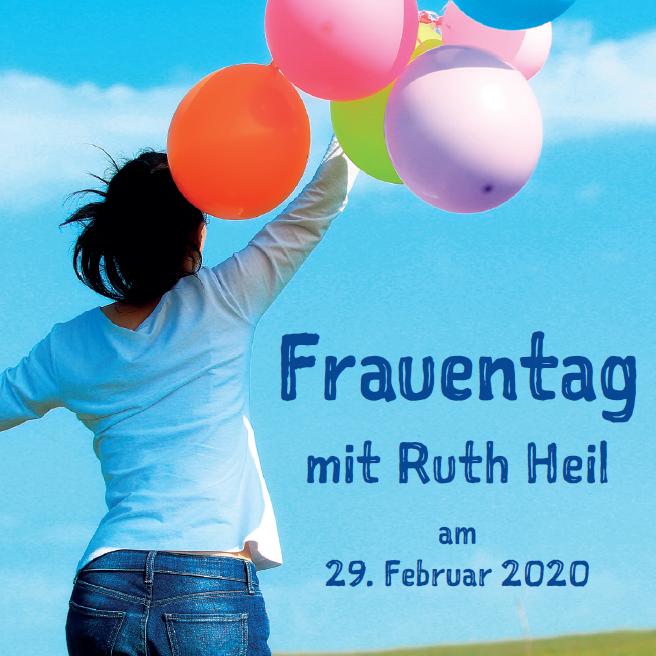 Frauentag mit Ruth Heil