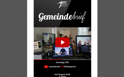 Gemeindebrief 2020-3 (Juni-August)